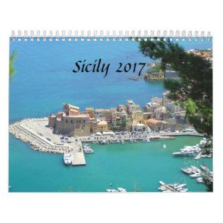 Sicily 2017 calendar