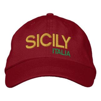 Sicily* Baseball Hat  cappello da baseball Sicilia Embroidered Hats