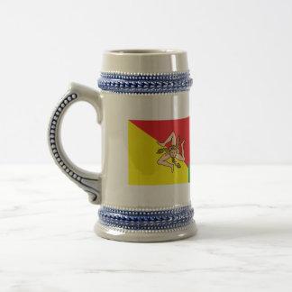 Sicily Beer Stein 18 Oz Beer Stein