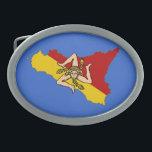 "Sicily Belt Buckle<br><div class=""desc"">Belt buckle power of Sicily!</div>"