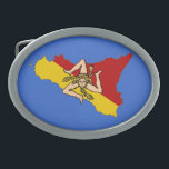"Sicily Belt Buckle<br><div class=""desc"">Belt buckle power of Sicily!</div>"