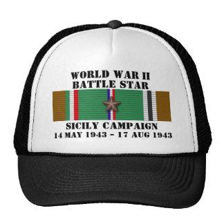 Sicily Campaign Trucker Hats