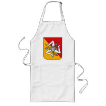 Sicily Coat of Arms Apron