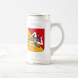 Sicily Coat of Arms Mug