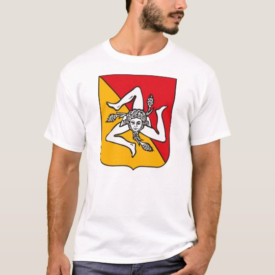 Sicily Coat of Arms T-shirt
