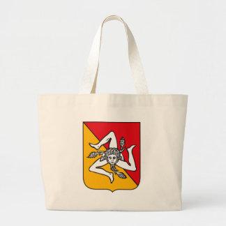 Sicily Coat of Arms Tote Bag