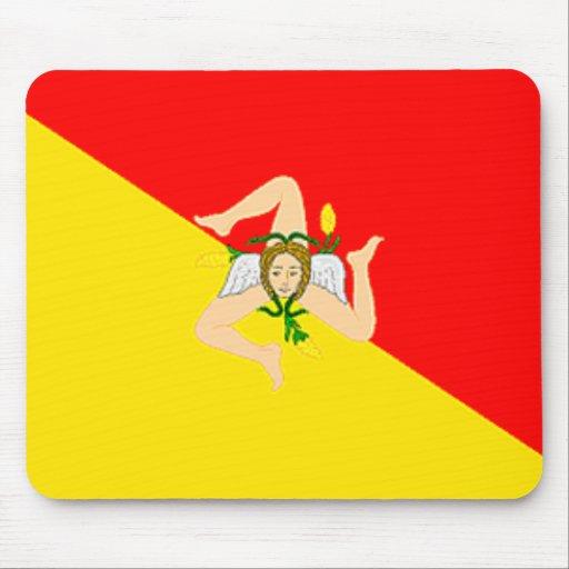 Sicily Flag Mousepad