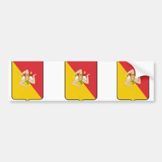 Sicily, Italy Bumper Stickers