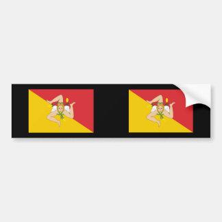 Sicily, Italy Bumper Sticker