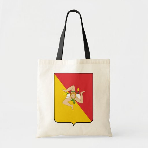 Sicily, Italy Canvas Bags