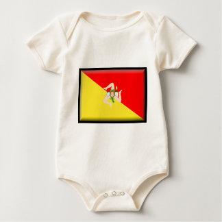 Sicily (Italy) Flag Baby Creeper