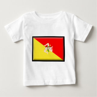 Sicily (Italy) Flag Baby T-Shirt