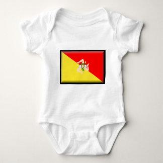 Sicily (Italy) Flag Tshirt