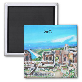 Sicily, Italy Magnet