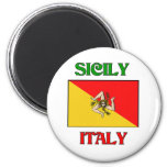 Sicily Italy Magnets