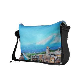 Sicily, Italy Rickshaw Messenger Bag