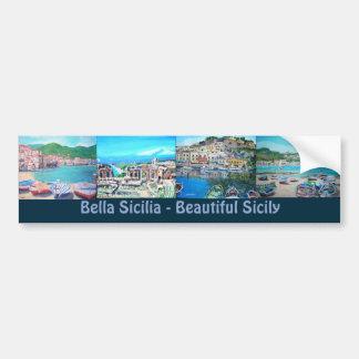 Sicily Landscapes - Bumper Sticker