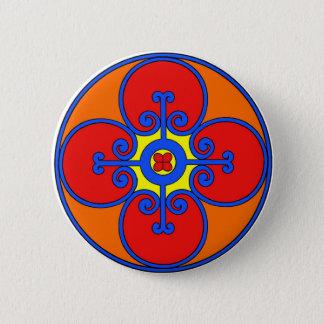 Sicily Mediterranean Design Button