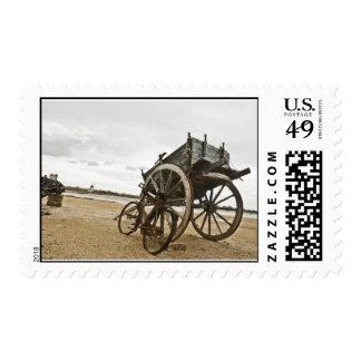 Sicily old cart postage