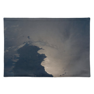 Sicily pan evening ESC_large_ISS027_ISS027-E-10751 Cloth Placemat
