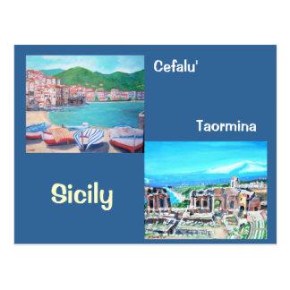 Sicily Postcard
