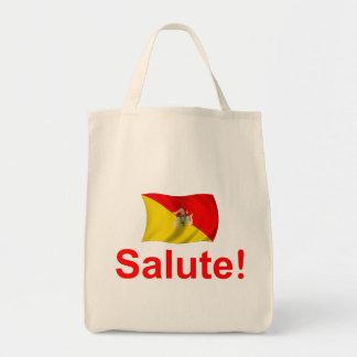 Sicily Salute! Tote Bag