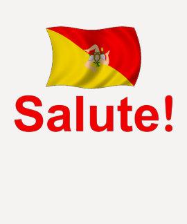 Sicily Salute! Tshirts