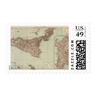 Sicily, Sardinia Postage