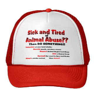 Sick and Tired Trucker Hats
