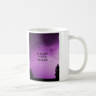 "Sick As Our Secrets"" Classic White Coffee Mug"