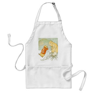 Sick Baby Prairie Dog Coughs Adult Apron