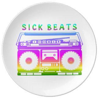 Sick Beats Plate