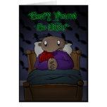 Sick Bed - Dark Derek Cards