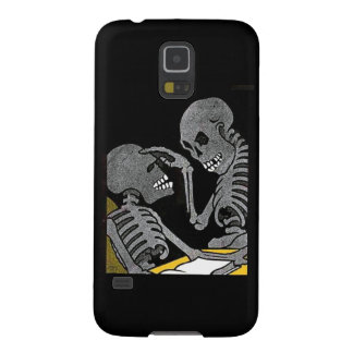 Sick Bed Skeleton Samsung Galaxy S5 case