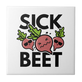 Sick Beet Tile