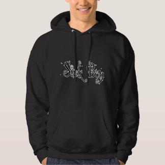 Sick Boy - B&W Hooded Sweatshirt