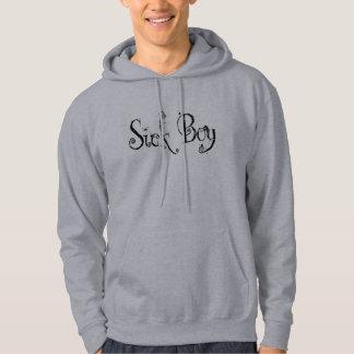 Sick Boy - B&W Hooded Sweatshirts