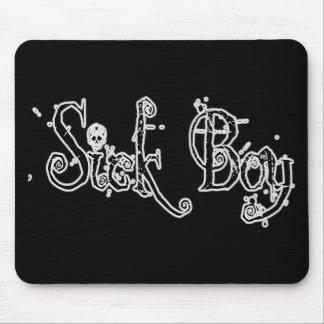 Sick Boy - B&W Mouse Pad