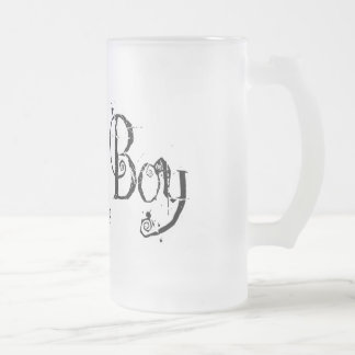 Sick Boy Frosted Glass Beer Mug
