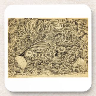 Sick Chamber_by Brian Benson Beverage Coaster