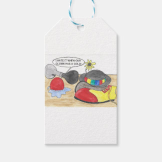 Sick Clown, Wet Nose Gift Tags