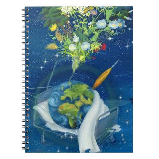 Sick Earth 2008 Spiral Notebooks