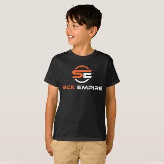 Sick Empire - Boys Tee 3 (Orange & White Logo)