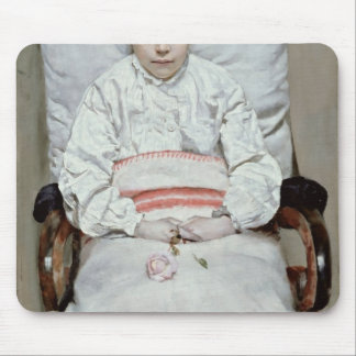 Sick Girl Mouse Pad