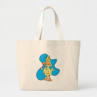 sick little ducky jumbo tote bag