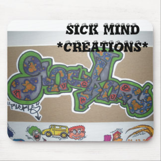 SICK MIND CREATIONS MOUSE MAT