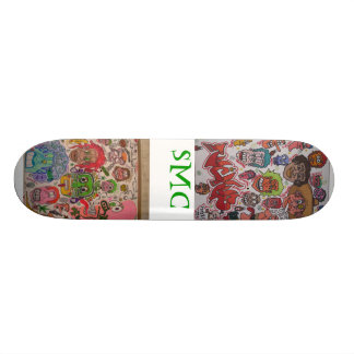 SICK MIND CREATIONS!! SKATEBOARD