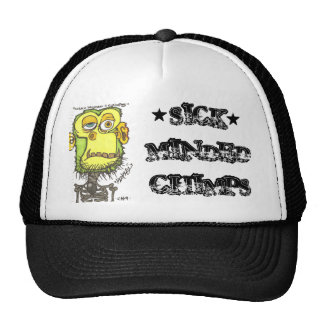 SICK MINDED CHIMPS, *, * TRUCKER HAT