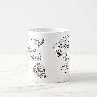 sick minded crow mugs
