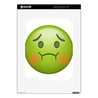 Sick note Emoji Face Skins For The iPad 2